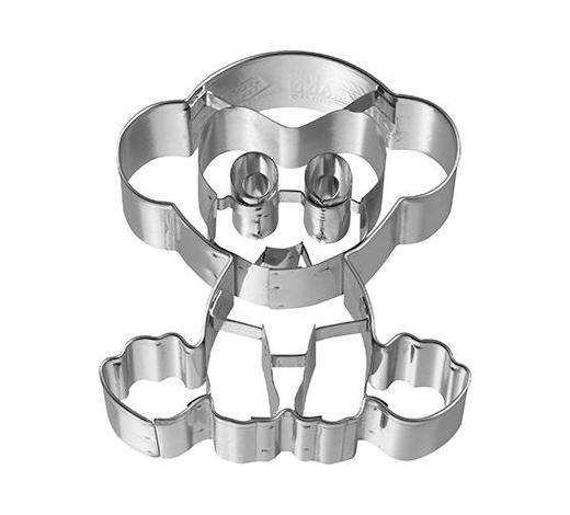 KEKSAUSSTECHFORM - Edelstahlfarben, Basics, Metall (6,4/7/2,5cm) - Birkmann