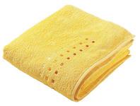 DUSCHTUCH 70/140 cm Gelb  - Gelb, KONVENTIONELL, Textil (70/140cm) - Esposa