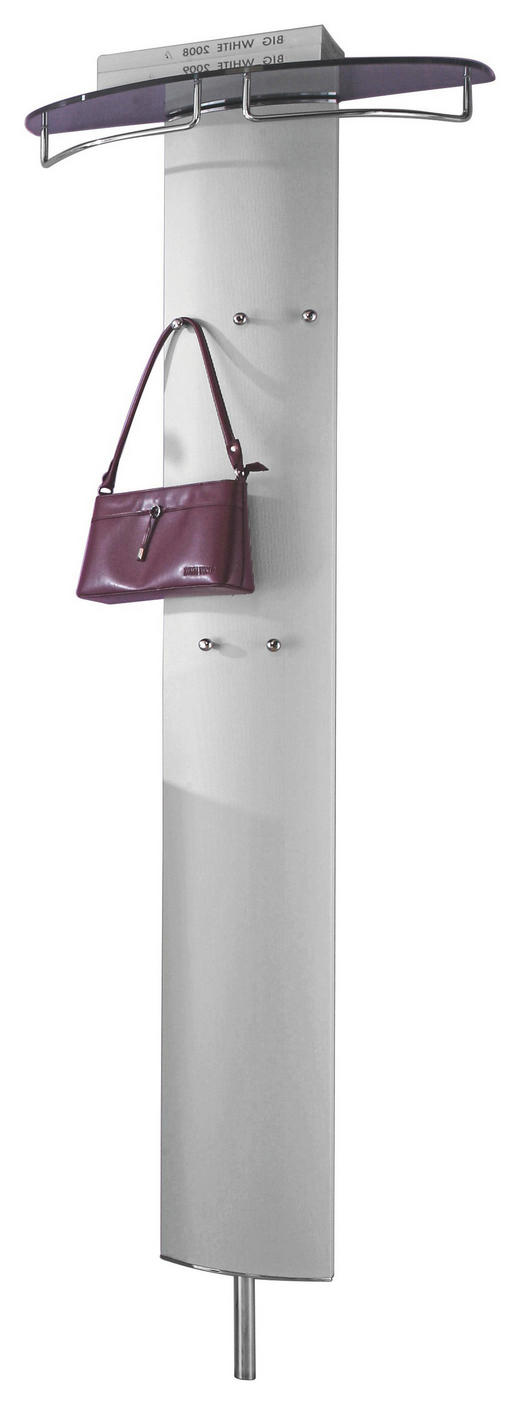 GARDEROBENPANEEL - Alufarben, Design, Glas/Metall (63/192/26cm) - Moderano