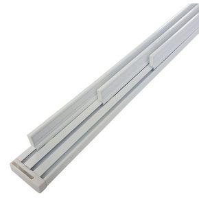 DRŽAČ PANEL ZAVESE - Boja aluminijuma, Dizajnerski, Metal (3100mm) - Homeware