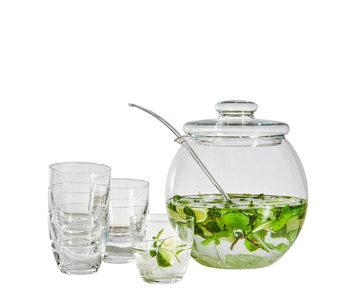 BÅL-SET - transparent, Klassisk, glas - Homeware