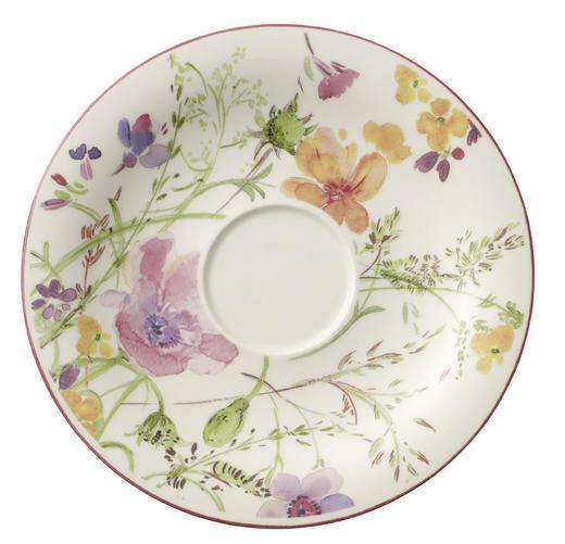 UNTERTASSE - Multicolor/Weiß, KONVENTIONELL, Keramik (19cm) - Villeroy & Boch