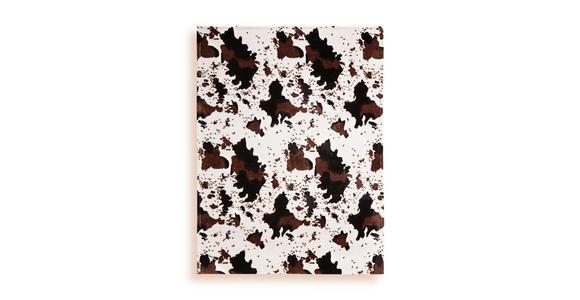 Kuscheldecke Afrika - Hellbraun/Dunkelbraun, KONVENTIONELL, Textil (130/170cm) - Ombra
