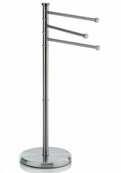 HANDTUCHHALTER Silberfarben - Silberfarben, Basics, Metall (22/86cm)