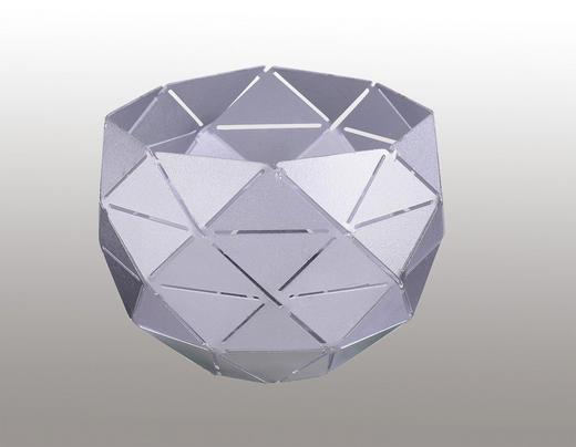 LEUCHTENSCHIRM  Silberfarben  Metall  E14 - Silberfarben, LIFESTYLE, Metall (10/7,3cm)