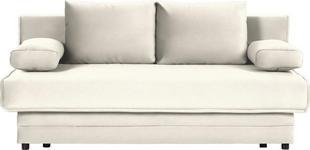 SCHLAFSOFA in Textil Naturfarben  - Naturfarben, Design, Textil (200/90/100cm) - Novel