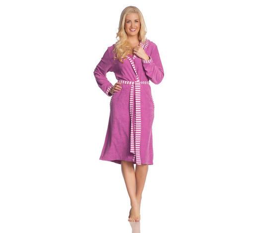 BADEMANTEL S - Pink, Basics, Textil (Snull) - Vossen