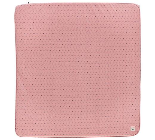 WICKELAUFLAGE - Schwarz/Rosa, Trend, Kunststoff (77/74/9cm) - Bebe Jou