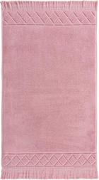 Badematte in Rosa 50/80 cm - Rosa, Design, Textil (50/80cm) - Esposa