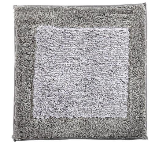 BADTEPPICH  Platinfarben  60/60 cm     - Platinfarben, Design, Textil (60/60cm) - Cawoe