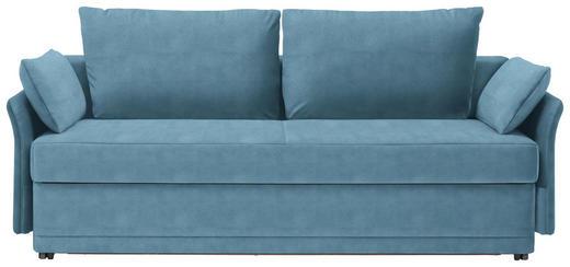 SCHLAFSOFA in Textil Hellblau - Hellblau, MODERN, Textil (220/98/96cm) - Joka