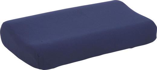 POLSTERBEZUG 40/70 cm - Dunkelblau, Basics, Textil (40/70cm) - Schlafgut