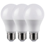LED-LEUCHTMITTEL  E27 9 W  - Weiß, Basics, Kunststoff/Metall (6/10,8cm) - Boxxx