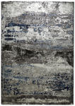 WEBTEPPICH - Blau/Silberfarben, Design, Kunststoff (160/230cm) - Novel