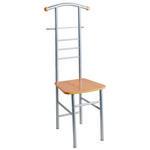HERRENDIENER Buchefarben, Alufarben  - Buchefarben/Alufarben, Design, Metall (46/119/50cm) - Carryhome