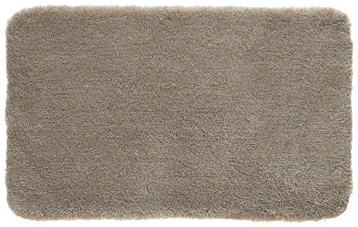BADTEPPICH  Taupe - Taupe, Basics, Kunststoff/Textil (60/100cm) - Kleine Wolke