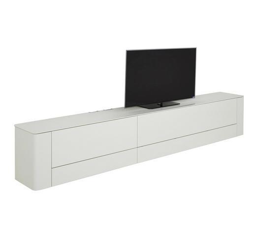 LOWBOARD 317/54/45 cm  - Weiß, Design, Holzwerkstoff (317/54/45cm) - Hülsta