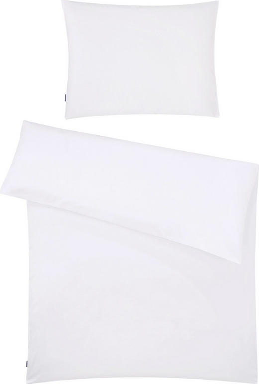 BETTWÄSCHE 140/200 cm - Weiß, Basics, Textil (140/200cm) - FUSSENEGGER