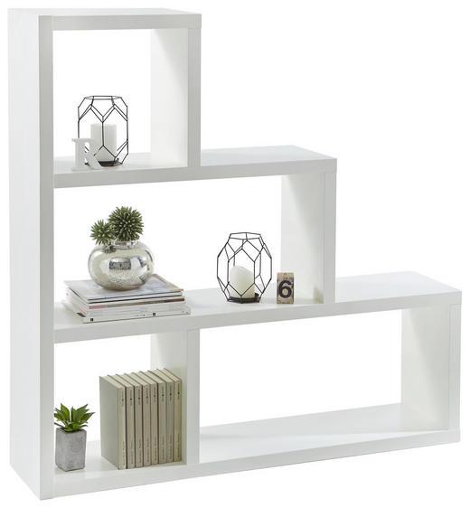 Raumteiler in Weiß - Weiß, Design, Holzwerkstoff (123,9/123,9/29cm) - Boxxx