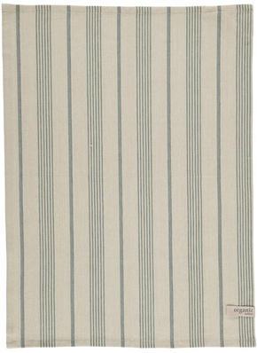 KÖKSHANDDUK - beige/grå, Basics, textil (50/70cm)