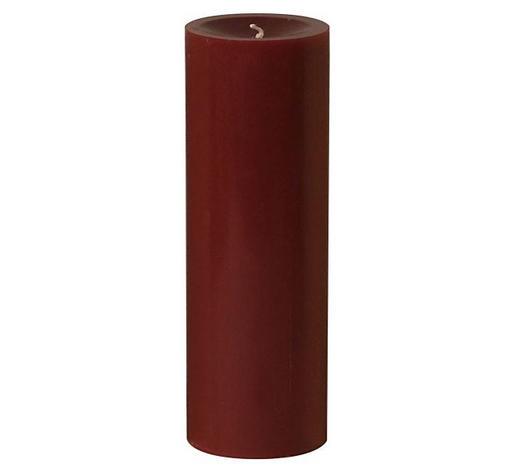 STUMPENKERZE 6,8/20 cm - Dunkelrot, Basics (6,8/20cm) - Steinhart