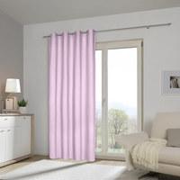 ZÁVĚS HOTOVÝ - růžová, Basics, textilie (140/245cm) - Esposa