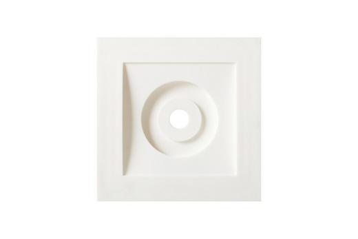 Rahmen in Weiß - Weiß, Basics, Kunststoff (8/8/2cm)