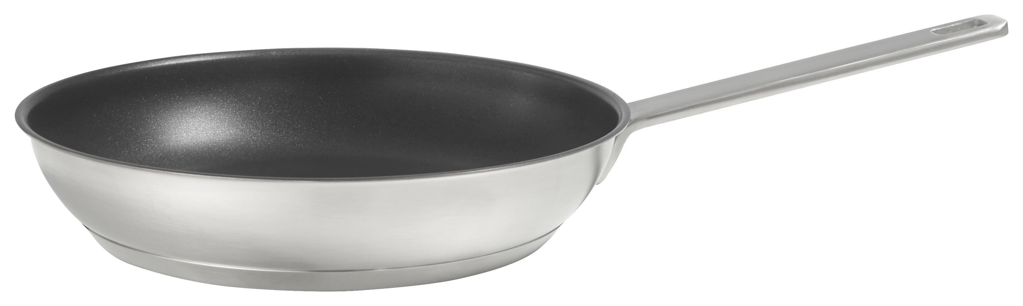 BRATPFANNE 28 cm Teflon® Platinum-Antihaftbeschichtung - Schwarz, Basics, Metall (28cm) - HOMEWARE PROFESSION.