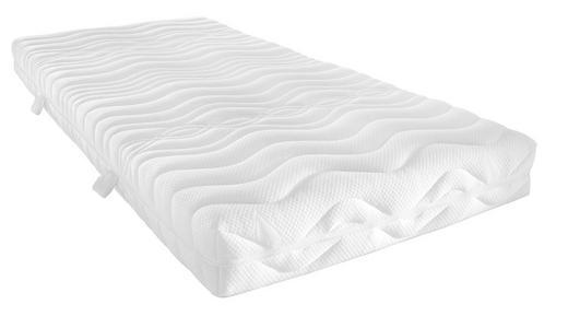 KALTSCHAUMMATRATZE - Weiß, Basics, Textil (80/200/cm) - Sleeptex