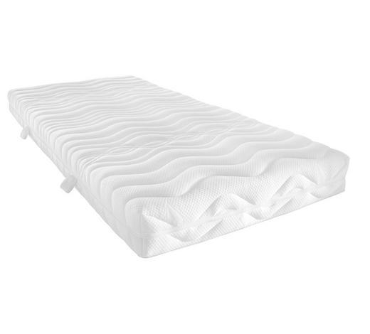 KALTSCHAUMMATRATZE 90/190 cm - Weiß, Basics, Textil (90/190cm) - Sleeptex