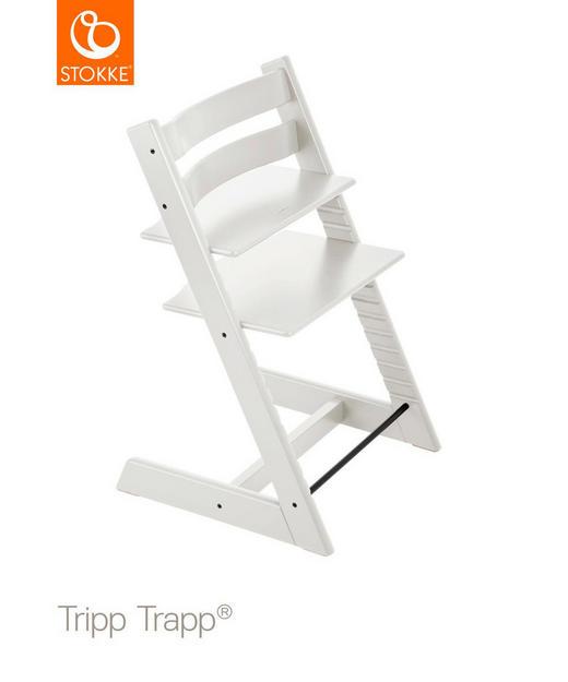 HOCHSTUHL Tripp Trapp - Weiß, LIFESTYLE, Holz (46/79/49cm) - Stokke