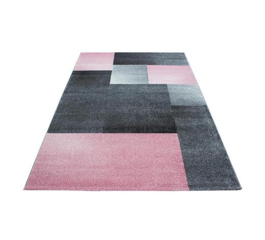 WEBTEPPICH  120/170 cm  Pink   - Pink, Trend, Textil (120/170cm) - Novel