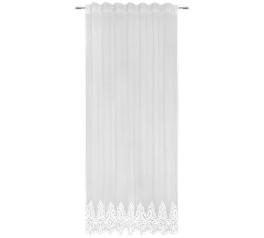 FERTIGVORHANG transparent - Weiß, Trend, Textil (135/245cm) - Landscape