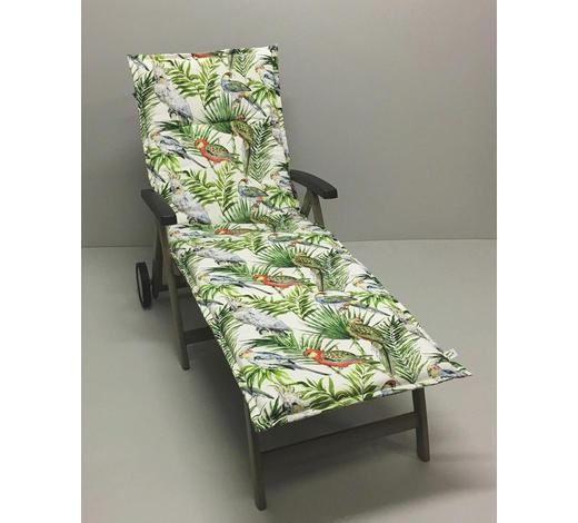 LIEGENAUFLAGE in Multicolor Vogel - Multicolor, Design, Textil (60/200/4cm)