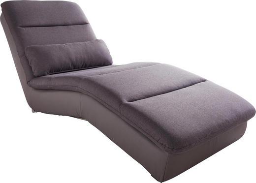 LIEGE Flachgewebe Anthrazit, Grau - Chromfarben/Anthrazit, Design, Textil (72/80/170cm) - Carryhome