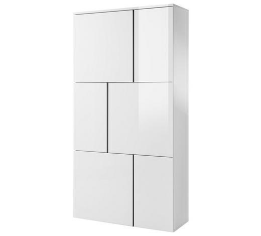 KOMMODE 100/179/37 cm - Weiß, Design, Holzwerkstoff (100/179/37cm) - Carryhome