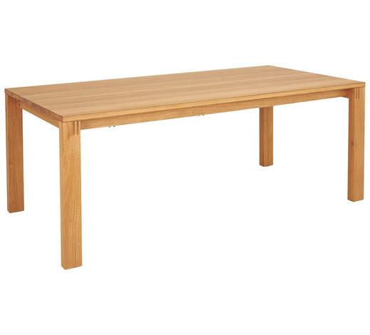 ESSTISCH in Holz 200/100/75,3 cm - Eichefarben, Design, Holz (200/100/75,3cm) - Team 7
