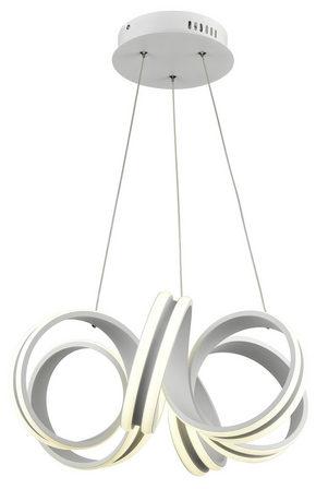 LED-PENDELLAMPA - silver, Design, metall/plast (49cm) - Novel
