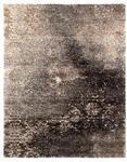VINTAGE-TEPPICH Palermo  - Schwarz/Braun, Design, Textil (65/130cm) - Novel