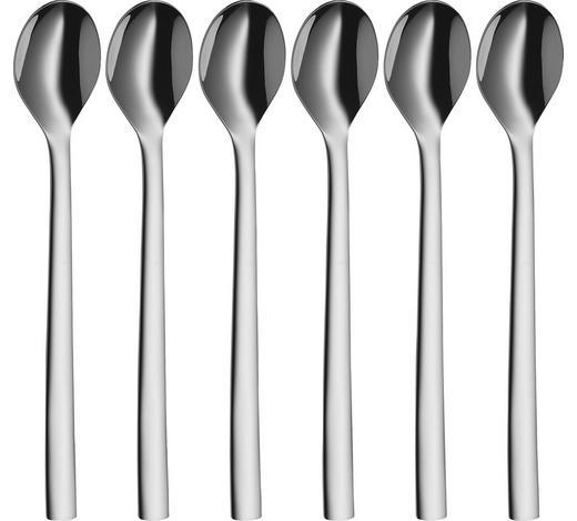 Latte-Macchiato-Löffelset - Edelstahlfarben, Design, Metall (19cm) - WMF