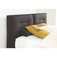 POSTEL BOXSPRING, 180 cm  x 200 cm, textil, černá - černá/barvy hliníku, Konvenční, kov/textil (180/200cm) - Dieter Knoll