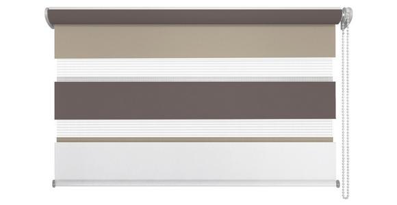 DUOROLLO - Hellbraun/Braun, Design, Textil (120/160cm) - Homeware