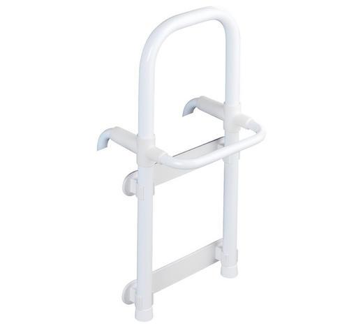 EINSTIEGSHILFE - Weiß, Design, Kunststoff/Metall (23/52,5/24,5cm)