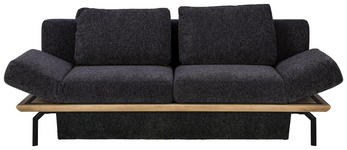 SCHLAFSOFA in Holz, Textil Anthrazit, Eichefarben - Eichefarben/Anthrazit, MODERN, Holz/Textil (234/90/102cm) - Dieter Knoll