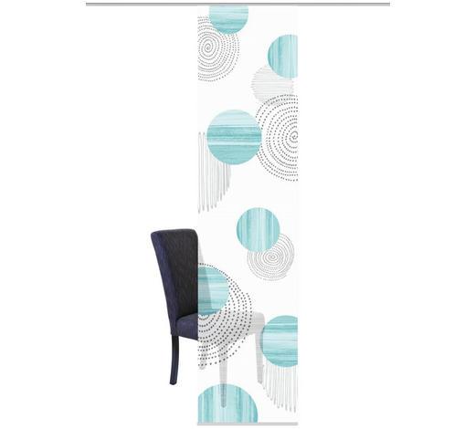 FLÄCHENVORHANG in Mintgrün  - Mintgrün, Design, Textil (60/260cm)