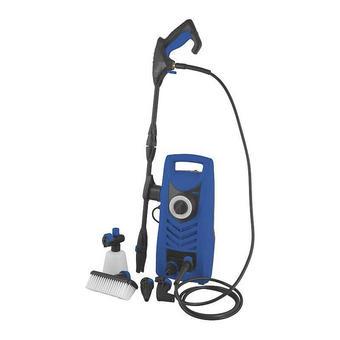 HOCHDRUCKREINIGER - Blau/Schwarz, Basics, Kunststoff (21/44/20cm)