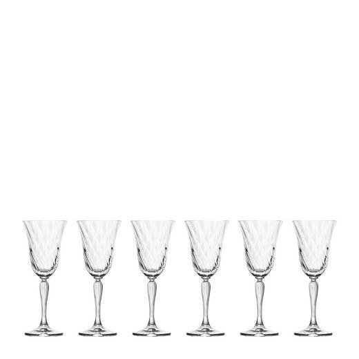 WEIßWEINGLAS-Set 6-teilig - Klar, Glas (0,2cm) - LEONARDO