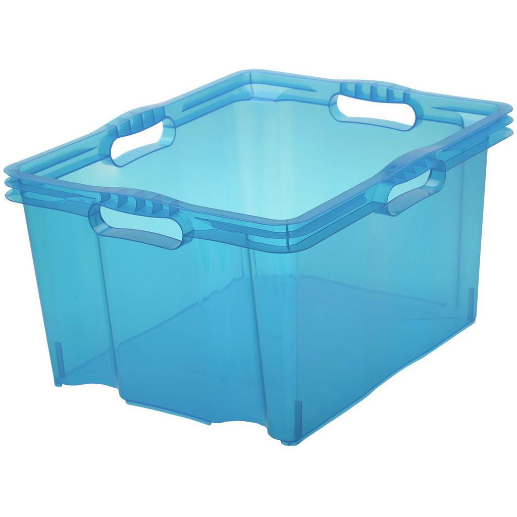 Transparente Aufbewahrungsbox - Ordnung mit Durchblick