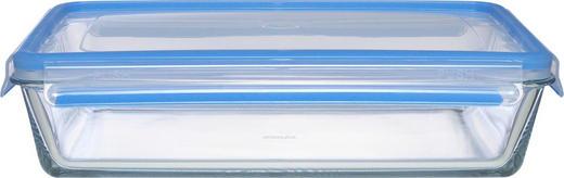 FRISCHHALTEDOSE 1,30 - Blau/Klar, KONVENTIONELL, Glas (24/18/7cm) - Emsa