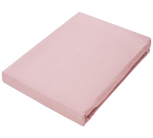 PROSTĚRADLO NAPÍNACÍ, žerzej, 180/200 cm - růžová, Basics, textil (180/200cm) - Novel
